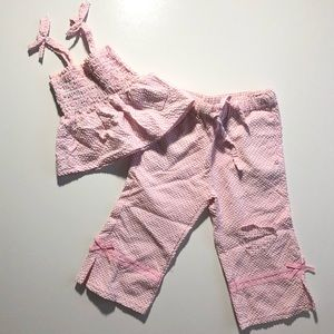 2T Girl Vintage French Toast Matching Outfit